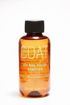 Coat Colours  Coat Soy Nail Polish Remover