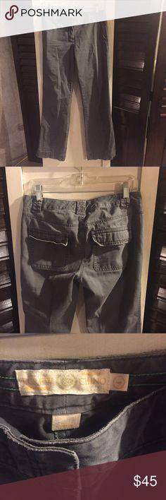 "J. Crew chino Nice J. Crew grey (blueish grey) chino. Size 4. 30"" inseam. J. Crew Pants Trousers"