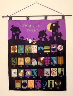 I wish I had time to...: Halloween Advent Calendars