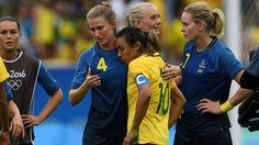 (Video) Dolorosa eliminación de la selección femenina de Brasil en el fútbol olímpico