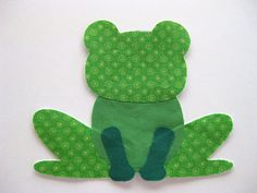 Frog ironon applique by ScarlettDaisies on Etsy, $3.50