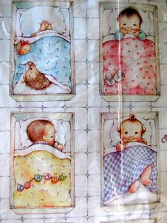 Vintage Newborn Baby Shower Paper Gift Wrap