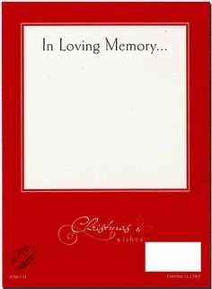 Christmas Grave Card Angel In Heaven FREE Memoriam Funeral Memoriam Funeral Memorial, Angels In Heaven, In Loving Memory, Card Sizes, Your Cards, Verses, Poems, Dads, Card Holder