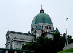 St. Joseph's Oratory atop Mont Royal in Montréal