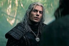 Henry Cavill in The Witcher The Witcher Geralt, Witcher Art, Geralt Of Rivia, Henry Cavill, The Witchers, Tv Series On Netflix, Hair Reference, Fright Night, Werewolf