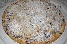 Sauerkirsch - Streusel - Kuchen (Cherry Crumble Cake)