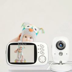 INQMEGA VB603 - US$58.99 (coupon: BGINQ847) 📉 Wireless Video Baby Monitor 3.2 inch Baby Nanny Security Camera Night Vision Temperature Sleeping Monitor - EU Plug #INQMEGA #VB603  #Temperature #Sleeping  #Camera #banggood  #Baby #Monitor #coupon 1720150 Teen Boy Rooms, Pallet Bed Frames, Bling Phone Cases, Recording Studio Design, Baby Monitor, Samsung Galaxy S5, Security Camera, Phone Covers, Night Vision