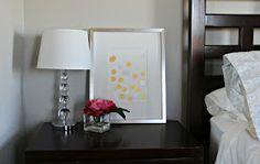 Design Your Dwelling: New Master Bedroom Art {DIY Art}