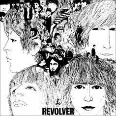 The Beatles Revolver vintage posters canvas printing wall print home decor printable prints art prin The Beatles, George Harrison, John Lennon, Abbey Road, Ringo Starr, Pop Rock, Rock N Roll, Bob Dylan, Album Covers