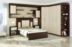 Quarto de casal Modern Master Bedroom, Master Bedroom Design, Bed Unit, Bed Back, Bedroom Wardrobe, Bedding Sets, Pergola, Condo, Entryway