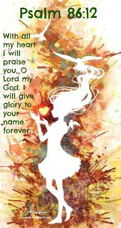 Salmos 86:12