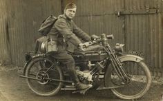 motorcycles WW1
