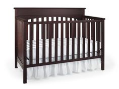 Graco 04530-364 Lauren Convertible Crib-Cherry