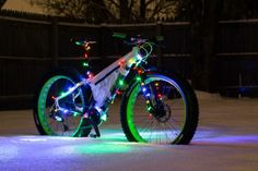 Fat Bike Christmas #fatbike #bicycle #fat-bike