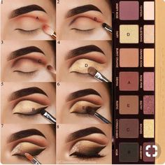A step by step #tutorial on this smokey cut crease eye #makeup look, perfect dramatic sultry eye for weddings and prom.
