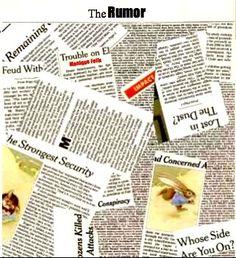 소문|24 pages,9.7 x 8.6 x 0.4 inches|    소문이란 얼마나 실체 없는 말이라는 사실을 가르쳐 주는 그림책이다. 조용하고 평화로운 동네에는 착한 동물들이 사이좋게 산다. 매일 아침 신문을 꼭 읽으며 하루를 시작하는 토끼 루퍼트는 어느날 굶주린 늑대가 언덕위에서 어슬렁거린다는 뉴스를 읽는다. 토끼는 깜짝 놀라서 집 근처 언덕에서 일광욕을 하고 있는 친구 고양이 클레오에게 이 사실을 말해 주기위해 뛰어간다.꼬리에 꼬리를 물고 토끼의 늑대에 대한 뉴스는 다른 동물 친구들에게 전달된다. 동물들은 각자 자신들의 주관적인 관점에서 늑대의 특징을 추가하면서 소문을 부풀린다. 고양이 클레오는 늑대가 날카로운 발톱을 가지고 있다고 말한다. 코끼리 에드가는 늑대의 코가 진공청소기처럼 강력하다고 말한다. 악어 안톤은 늑대는 샐 수 없을만큼 많은 이빨을 가지고 있다고 말하면서 버섯을 수집하고 있는 친구 왈리에게 말한다. (그런데 그림을 보면 왈리가 바로 늑대라는걸 알 수…