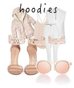 Hoodie Contest: Chic Hoodie by emily-louise-webberley on Polyvore featuring polyvore, fashion, style, Hollister Co., Hobbs, Helmut Lang, Stuart Weitzman, New Look and clothing