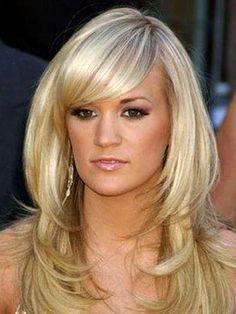 Celebrity Long Hair Styles Carrie Underwood