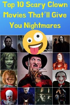 Top 10 Scary Clown Movies That'll Give You Nightmares - Pin Cms Crazy Funny Memes, Funny Relatable Memes, Funny Pins, Scary Clown Movie, Scary Clowns, Best Butt Lifting Exercises, Curious Facts, Really Funny Pictures, Perfectly Timed Photos