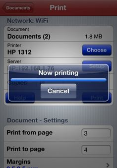 Print n Share is a useful app for any device which prints to any printer.