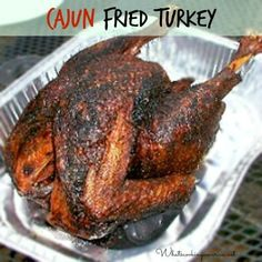 Cajun Fried Turkey