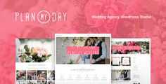 Plan My Day | Wedding / Event Planning Agency Plan My Day is compatible with such plugins: Revolution Slider, Essential Grid, PO Composer, Visual Composer, to make it easy for you to setup a wedding planner website. Also, if you want to sell things via your website, the theme is compatible with WooCommerce plugin.