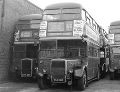 London Transport Buses in 1968