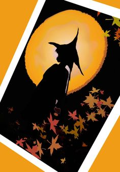 By The Light of the Halloween Moon by Jynxx on Etsy