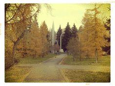 Осень в Сквере Славы.