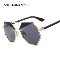 MERRY'S Fashion Women Buterfly Sunglasses Alloy Frame Brand Designer Sunglasses Classic Sunglasses S'8572 #Affiliate