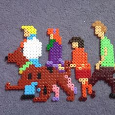 Scooby-Doo perler beads by  Kim Morrison