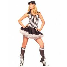 Sexy Referee Costume Sexy Referee Costume [FD61930] - £34.99 : Get It On Fancy Dress Superstore, Fancy Dress & Accessories For The Whole Family. http://www.getiton-fancydress.co.uk/adult-costumes/sports-costumes/sexy-referee-costume#.Uqm1AScUWSo
