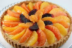 Yumm! Citrus Tarté.  Could probably use my fav tart filling recipe and just put citrus on top