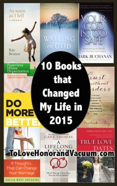 Understanding grace. Learning to wait. Understanding God's love. 10 Christian books I read in 2015 that changed the way I think about God--and myself.