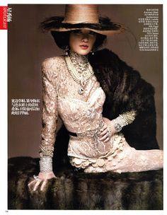 .Moda de Subculturas: Moda e Cultura Alternativa.: Editorial Belle Époque na Vogue China