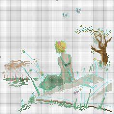 "Gallery.ru / Фото #20 - Icones de mode"" Helene le Berre - Ulka1104 Cross Stitching, Cross Stitch Embroidery, Embroidery Patterns, Hand Embroidery, Cross Stitch Designs, Cross Stitch Patterns, Cross Stitch Pictures, Cross Stitch Baby, Needlework"