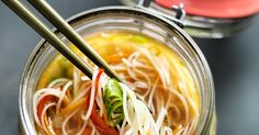 Weight Watchers Recipe. Instant Noodle Jars. 5 Smart Points