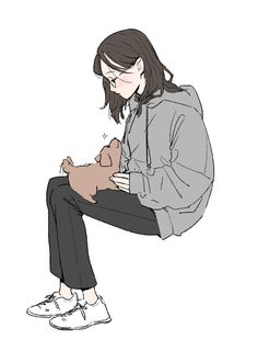 Dibujos Dark, Character Art, Character Design, Gothic Anime, Sad Art, Digital Art Girl, Cartoon Art Styles, Anime Art Girl, Cool Drawings