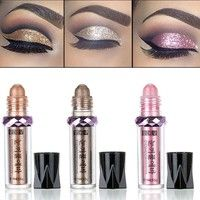 Feature: 100% Brand New Effect: Shimmer, long lasting, easy to makeup Color: Gold, Gray, Black, Pink