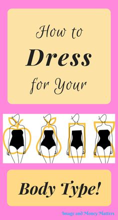 Knowing how to dress for your body shape is important! I've simplified it so that you can be confident when shopping in stores or on-line! Read my post to discover what styles will accentuate your best features; helping you look & feel your best! What's My Body Type, Body Type Quiz, Types Of Body Shapes, Face Shapes, Body Types, Wedding Dress Body Type, Dress For Body Shape, Dressing Your Body Type, Hourglass Body Shape