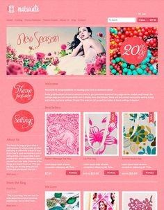 Expression Shopify Ecommerce Template  http://themes.shopify.com/themes/expression/styles/naturale