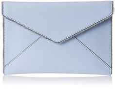 Rebecca Minkoff Leo Clutch-pretty & large enough for all my stuff!