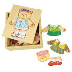 Dress Up Mrs Bear| Bigjigs Toys Ltd - 4,99