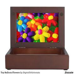Toy Balloon Flowers Memory Box