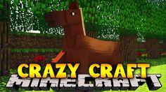 Minecraft Crazy Craft 3.0 : YOUTUBER HOUSES #16 Little Lizard, Minecraft, Houses, Youtube, Crafts, Homes, Manualidades, Handmade Crafts, Craft