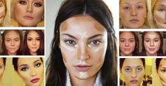 """Hovorí sa, že kontúrovanie tváre je """"photoshop"""" v líčení. Dokáže perfektne zakryť nedokonalosti, zvýrazniť črty... Photoshop, Make Up, Makeup, Beauty Makeup, Bronzer Makeup"""