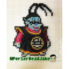 King Kai - Dragon Ball perler beads by perlerbeadjake