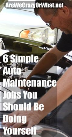 Instructions for routine auto maintenance tasks that you can do yourself and save money