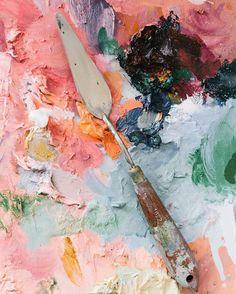 studio tour emma fineman is part of Art inspo - Studio Tour Emma Fineman artStudio Aesthetic Painting Inspiration, Art Inspo, Colour Inspiration, Artist Aesthetic, Aesthetic Painting, Aesthetic Colors, Art Hoe, Oeuvre D'art, Art Drawings
