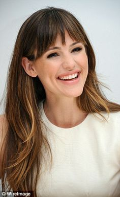 jennifer garner new bangs - Google Search